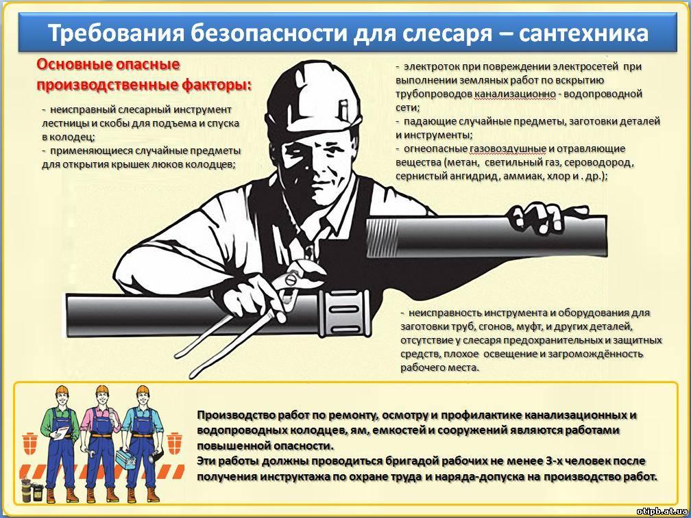 Должность Костная Инструкция Слесаря Сантехника